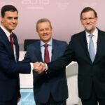España: La corrupción en duro debate entre Rajoy y candidato de PSOE