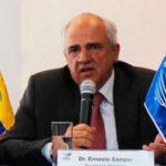 Unasur: Samper no desea reelección y va a trabajar por la paz a Colombia