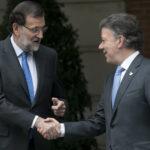 Santos agradece gestiones de Rajoy para supresión de visados