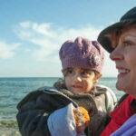 Susan Sarandon compartirá navidad con refugiados de Grecia