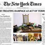 EEUU: New York Times en portada pide mayor control de armas