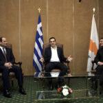 Grecia, Egipto y Chipre apoyan creación de un Estado palestino