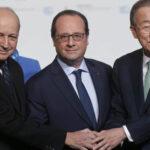COP 21: Canciller francés presenta acuerdo a plenario