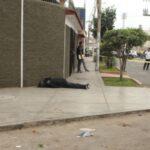 Trujillo: Acribillan a trabajador de Contraloría