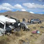 Cusco: Dos muertos por despiste de camioneta