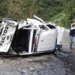 Cusco: Dos trabajadores municipales mueren en vuelco de camioneta
