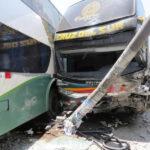 Cajamarca: 2 heridos y corte de luz tras accidente vehicular
