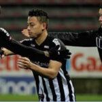 Christian Benavente anota su primer gol con el Charleroi