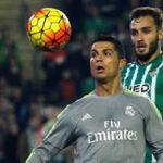 Betis con Juan Manuel Vargas logra empatar 1-1 con Real Madrid