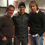 Beto Da Silva recibe la visita de Ricardo Gareca en Holanda
