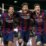 Messi, Neymar y Luis Suárez son los 3 mejores de 2015