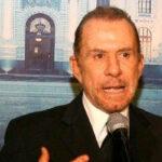 Ricardo Belmont retiró candidatura por presiones de su partido