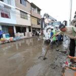 Doce viviendas perjudicadas por colapso de tuberías de desagüe