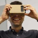 Google distribuyó para realidad virtual 5 millones de sus cajas Cardboard
