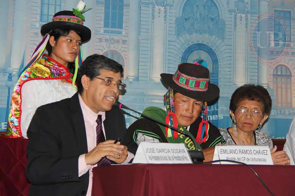Conferencia Uchuraccay Congreso 1