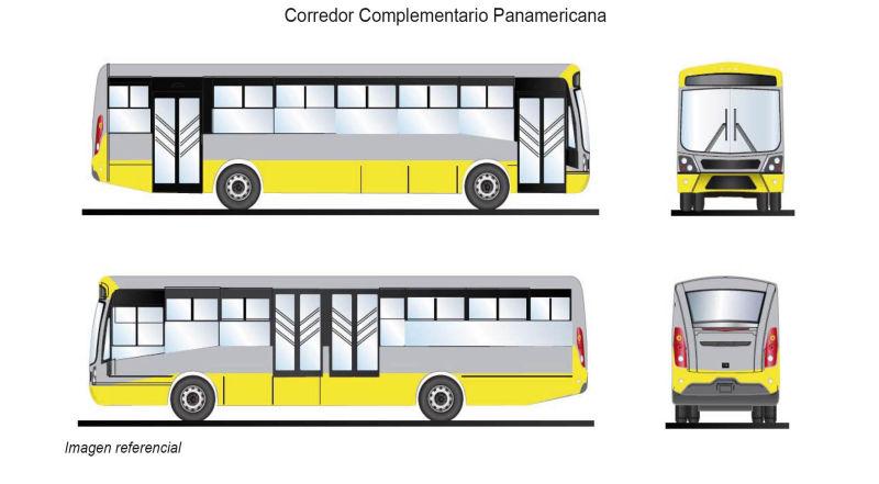 Corredor Complementario Panamericana Amarillo