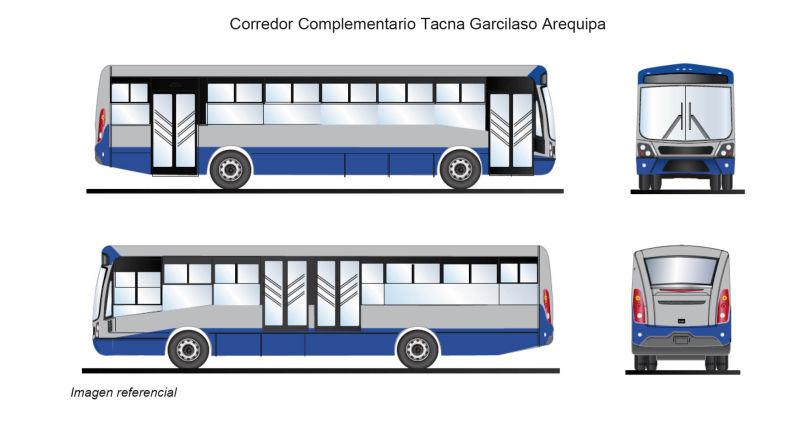 Corredor Complementario Tacna Garcilazo Arequipa Azul