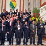Bolivia: Evoratifica a sus ministros a pocas semanas del referendo