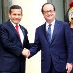 Humala: Visita de mandatario francés reforzará relación con Perú