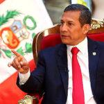 Presidente Humala recibió saludo de cuerpo diplomático en Palacio