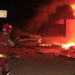 Lima registró 63 incendios durante celebraciones de Año Nuevo