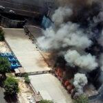 Incendio en sede de Canal 13 de Buenos Aires (VIDEO)