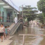 San Martín: Al menos 60 viviendas afectadas por inundación