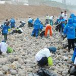 Magdalena y San Miguel realizan jornada de limpieza de playas