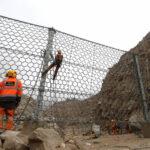 Chosica: Instalarán mallas para detener caída de huaicos