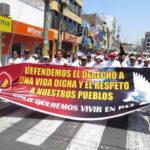 Chimbote: Policías y ciudadanos marchan por la paz