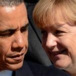 Barack Obama aborda la crisis de refugiados con Ángela Merkel