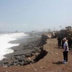 Pisco: Oleajes intermitentes ligeros en zonas de playa