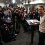 """España: Podemos tiende la mano a """"sectores sensatos"""" del PSOE"""