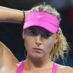 María Sharapova se retira del torneo de Brisbane por lesión