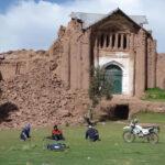 Puno: Se derrumba torre de antiguo templo de Tintiri