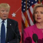 EEUU: Trump y Clinton lideran encuestas en carrera a la Casa Blanca