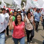 Verónika Mendoza: Queremos un país libre de corrupción e impunidad (Video)
