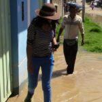 Huancayo: Desborde inunda 10 viviendas en Azapampa