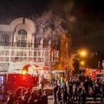 Manifestantes incendian la embajada de Arabia Saudí en Teherán (VIDEOS)
