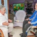 "Cuba: José Mujica asegura que vio ""centelleante"" a Fidel Castro"