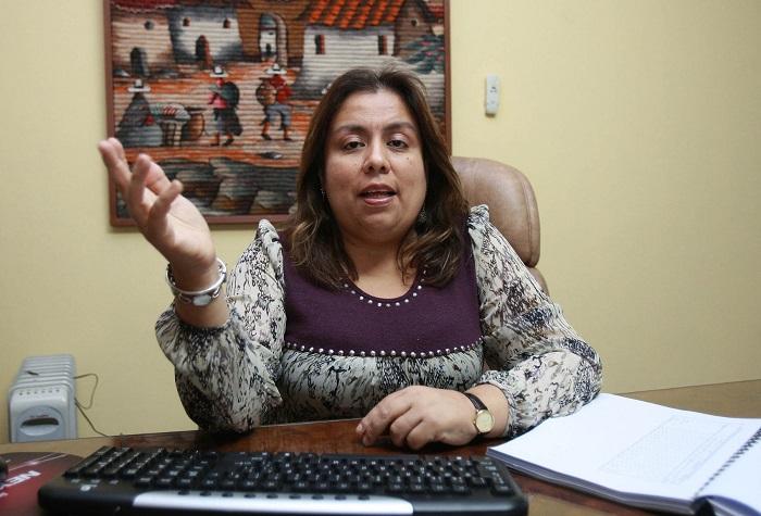 Resultado de imagen para analista política Giovanna Peñaflor.