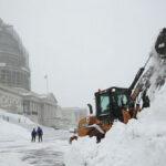 EEUU: Súper nevada Jonas dejó 37 muertos y escuelas paralizadas