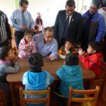 Minedu visita colegio donde estudió Daniel Alcides Carrión