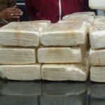 Policía peruana detiene a 23 personas con 160 kilos de cocaína