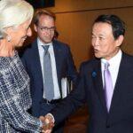 Lagarde recibe adhesión de Japón para repetir al frente del FMI