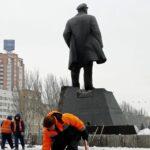 Rusia: Intentan dinamitar una estatua de Lenin en Donetsk