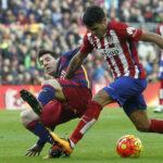 Liga BBVA: Barcelona se queda solo como líder al ganar 2-1 al Atlético