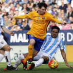 Liga BBVA: Barcelona derrota 2-1 al Málagacon gol de Messi