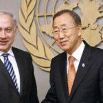 Israel: Netanyahu acusa de alentar el terrorismo a Ban Ki-moon