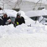EEUU: Tormenta de nieve deja al menos ocho muertos